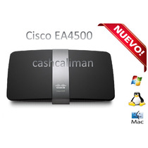 Router Nuevo Cisco Linksys Ea4500 N900 Internet Wifi Cable