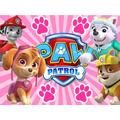 Kit Imprimible Paw Patrol Nena Diseña Tarjetas Invitacion #2