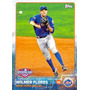Barajita Wilmer Flores Shortstop Mets Ny Topps 2015 # 158