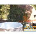 Casa Cabaña  Domo  Para 6 Personas Con  Piscina Para Niños