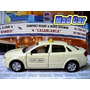 Mad Car Audi A4 Welly Auto Taxis Mundo Alemania 1/36