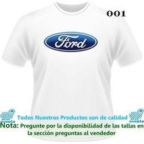 Franelas Estampadas Ford