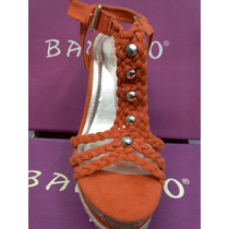 Sandalia Plataforma Comoda Dama Zapatos