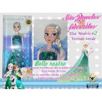 Muñecas Frozen Anna Y Elsa Como En La Película Navidad Ofert