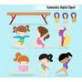 Kit Imprimible Gimnasia Artistica Imagenes Clipart