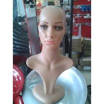 Maniqui Exhibidor De Mujer Con Base