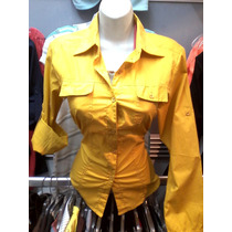 Camisa Manga Larga Para Dama Algodon Peruano
