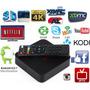 Tv Box Mxq Pro 4k 4 Cpu, Wifi, Hdmi Av Iptv Android Miracast