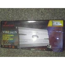 Planta Lanzar Vibe 2 Canales 5000 Watts (nueva A Estrenar)