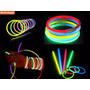 100 Pulseras Glow Neon Manillas Led Sticks Luminosas Fiesta!