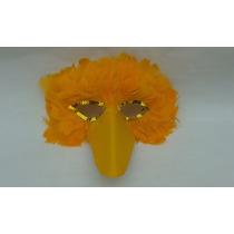 Mascara De Plumas En Forma De Ganzo Para Disfraces Hora Loca