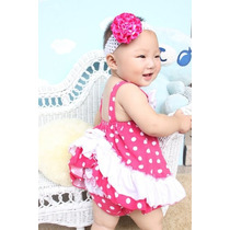 Vestidos Para Niñas M-mey Talla 6, 12, 18 Y 24 Meses Bellos