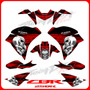 Adhesivos Cbr 250 Honda, Calcas, Tuning Motos Fox Stickers