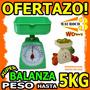 Wow Peso De Cocina Analogo Balanza 5kg Verdura Comida Fruta