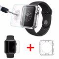 Carcasa Apple Watch 38mm + Protector Vidrio Templado