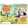 Tarjeta Invitación Infantiles Libro De Colorear Fotográfico