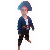 Disfraz De Capitan Jake Original Excelente Unicos