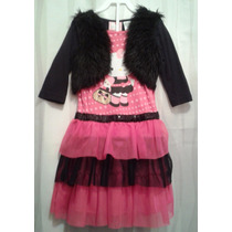Vendo Bello Vestido De Gala Marca Hello Kitty Niña Talla 4