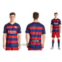 Camiseta Franela Barcelona Local 2016 Para Niños, Damas