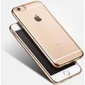 Protector Vidrio + Tpu Borde Color Iphone 7 6s 5 5s 5se Plus