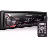 Media Receiver Pioneer Mvh-x198ui Usb Mp3 Mixtrax + Auxiliar