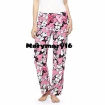 Pijama Dama Pantalón Minnie Mouse Hello Kitty Originales