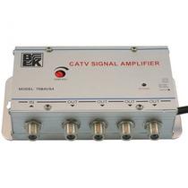 Amplificador De Señal De Tv De 20db De Ganancia 4 Salidas