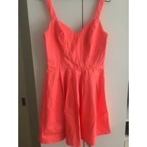 Vestido Naranja Comprado En Macys Usa Talla S