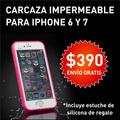 Protector Resistente Al Agua - Iphone 6 Y 7 + Tpu De Regalo