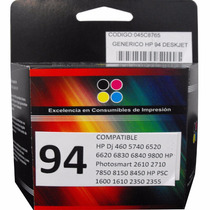 Cartuchos Hp 94 C8765w Genericos Color