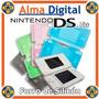 Forro Silicon Nintendo Ds Lite Estuche Protector De Goma