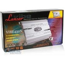 Potente Planta Lanzar Vibe432n 4000w 4 Canales Nueva De Caja