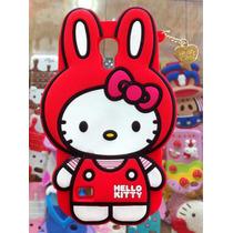 Forro Samsung S4 Mini Capitan America Goma Hello Kitty