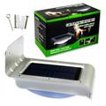 Foco 16 Leds Exterior Sensor Luz Y Movimiento Panel Solar