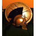 Casco Y Escudo Leonidas Espartano 300 Spartan Race