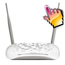 Moden Router Inalambrico Adsl 300mbps Tp-link Td-w8961nd