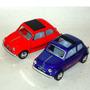 Fiat 500 Clásico 1:24, 12,5 Cm. Metal Kinsmart Nuevo S/caja