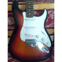 Guitarra Electrica Stagg Nueva Con Forro