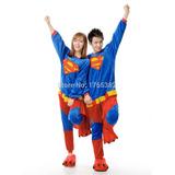 Pijama Entero Superman Kigurumi Polar Jovenes Adultos Kawaii