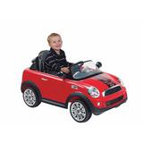Auto Electrico Mini Cooper Cp Rojo 6v 1214