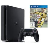 Playstation 4 Slim Ps4 500gb Con Fifa 17 Mod Cuh-2015a Msi
