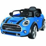 Montable Eléctrico Mini Cooper Hatch (rojo-azul-blanco)