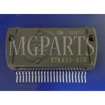 Stk433-870 Gn Ic Amplificador De Audio Original On - Sanyo