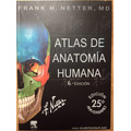 Atlas De Anatomia Humana Netter 6 Edicion + Material Digital