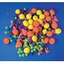 Fluffy Poms - Playbox Varios Colores Y Tamaños De Neón 500