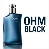 Perfume Original Ohm Y Ohm Black Hombre Yanbal Modaybelleza