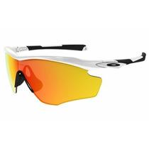 Gafas Oakley Frame Xl Polished White Fire Iridium Orginal!!!