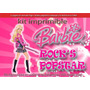 Kit Imprimible 4 Barbie Popstar Rock