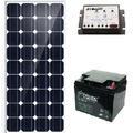 Especial De Paneles Solares 240 Watts / Baterias Trojan Roja