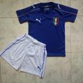 Uniforme Conjunto Italia Local Eurocopa 2016 Niños
